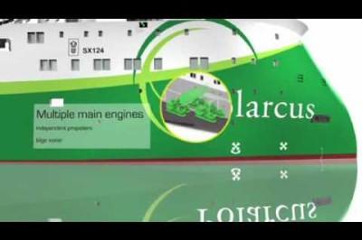 Polarcus - Polarcus 12 Streamer Seismic Vessel